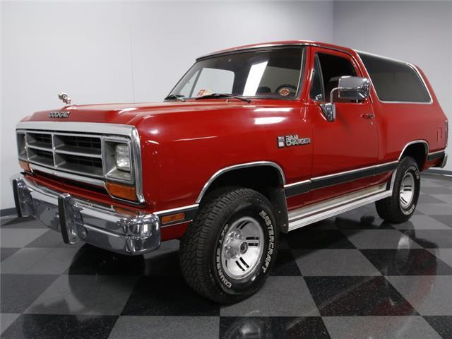 1990 dodge ramcharger le 175 000 miles red suv 360 4x4 automatic for sale dodge other pickups. Black Bedroom Furniture Sets. Home Design Ideas
