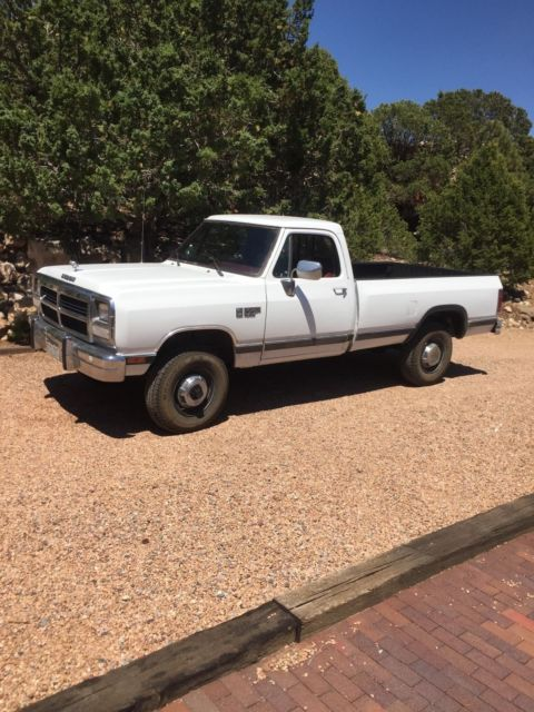 1990 dodge w250 cummins 12 valve diesel low mileage no rust 1991 1992 1993 for sale dodge ram. Black Bedroom Furniture Sets. Home Design Ideas