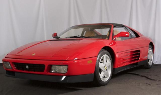 1990 Ferrari 348 Ts 36 258 Miles Rosso Corsa Tan