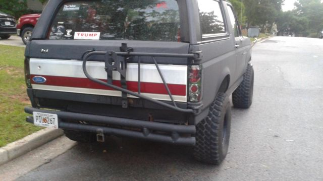1990 Ford Bronco 351 Windsor 4x4, auto, air, lifted, 35s ...