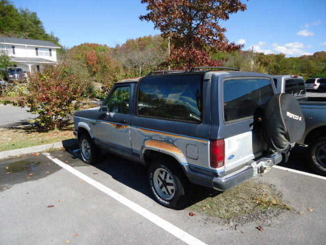 """1990 FORD BRONCO II XLT """"GREAT PROJECT SUV """" ORIGINAL ..."""