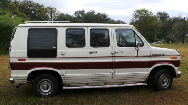 1990 ford econoline conversion van mint original with 33k original miles for sale ford e. Black Bedroom Furniture Sets. Home Design Ideas