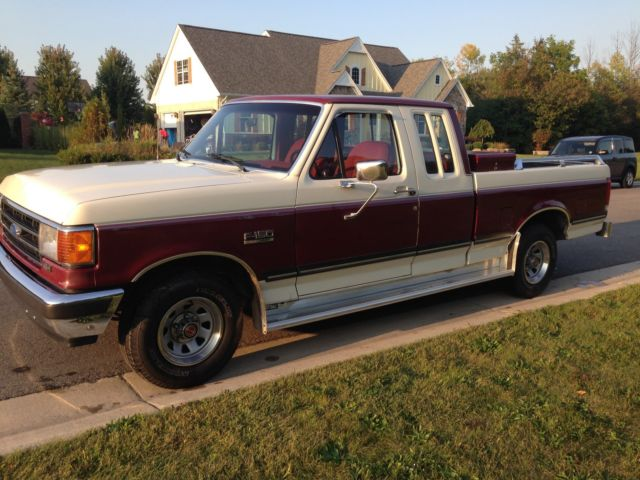 1990 Ford F 150 Extended Cab Pickup Truck Super Nice Only