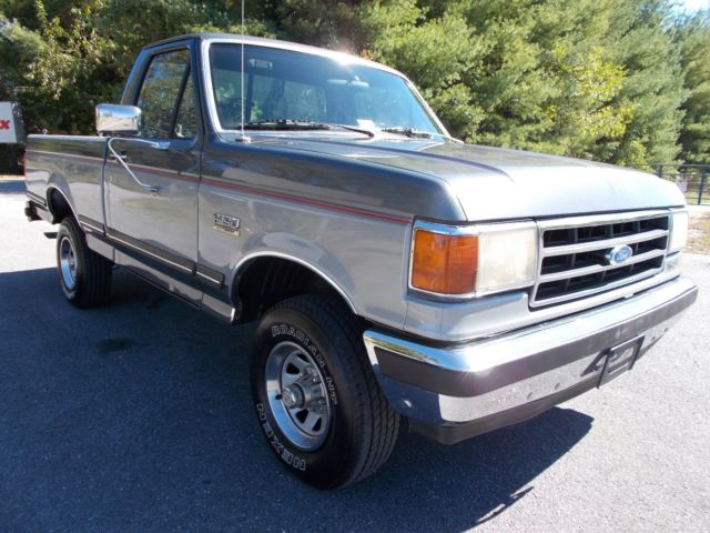 1990 ford f150 4x4 shortbed pickup truck 302 a c all original low miles rcsb 90 for sale ford. Black Bedroom Furniture Sets. Home Design Ideas