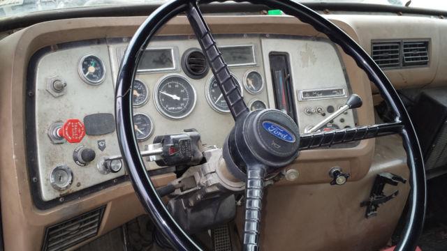 1990 Ford L8000 24 U0026 39  Foot Diesel Box Truck