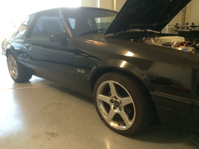 1990 Ford Mustang Foxbody Coupe 5 0 Supercharged S C Clean 302 87