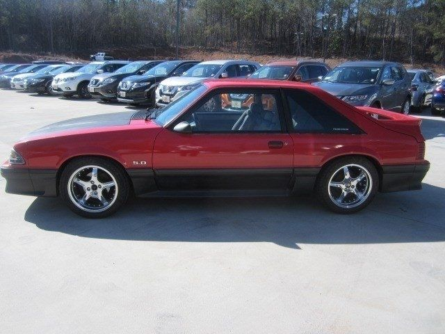1990 ford mustang gt 83 966 miles red 2d hatchback 8 cylinder engine 5 0l 302 ma for sale ford. Black Bedroom Furniture Sets. Home Design Ideas