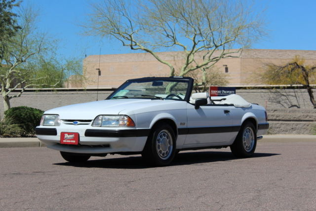 1990 ford mustang lx convertible for sale ford mustang lx 5 0 1990 for sale in scottsdale. Black Bedroom Furniture Sets. Home Design Ideas