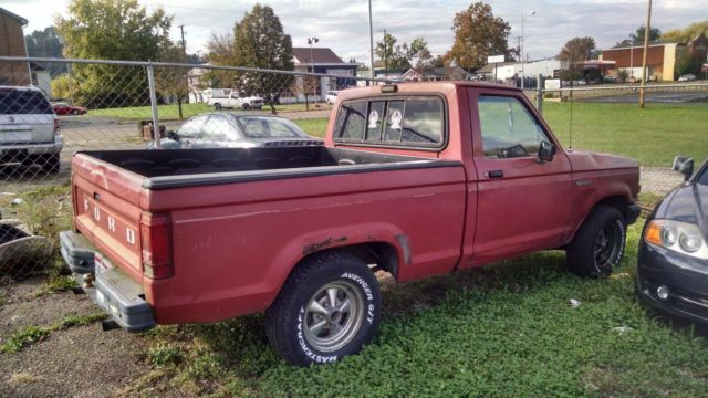 1990 ford ranger 2wd 63 081 non actual miles clean title no key has battery for sale ford. Black Bedroom Furniture Sets. Home Design Ideas
