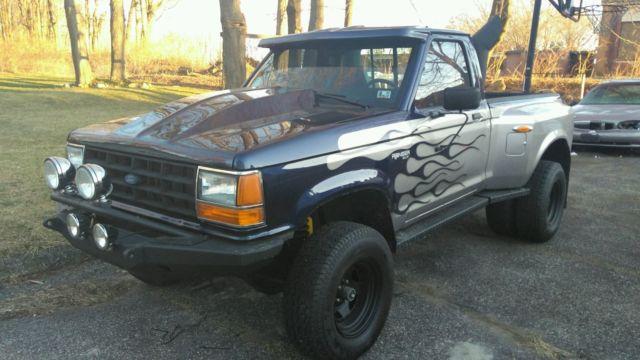 1990 Ford Ranger xlt full custom 4x4 dually street rod hot ...