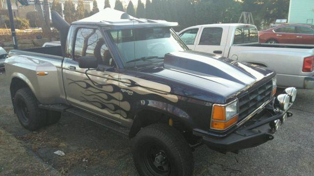 1990 ford ranger xlt full custom 4x4 dually street rod hot. Black Bedroom Furniture Sets. Home Design Ideas