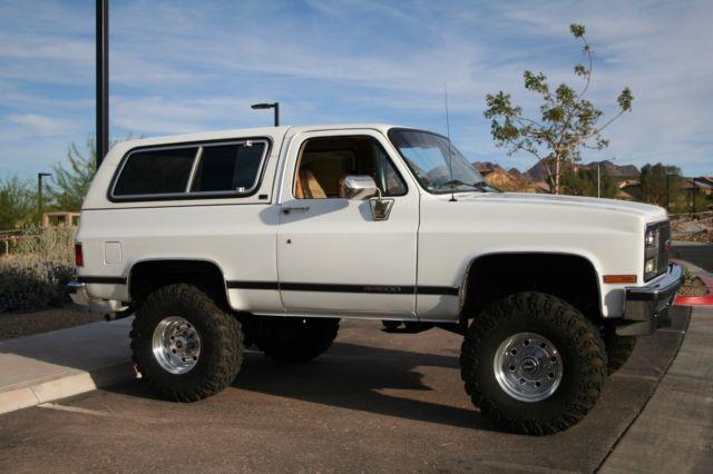 1990 Gmc Jimmy V1500 Sle Chevrolet K5 Blazer For Sale Chevrolet