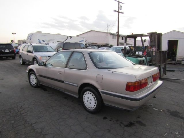 1990 honda accord lx used 2 2l i4 16v automatic no reserve for Honda accord old model