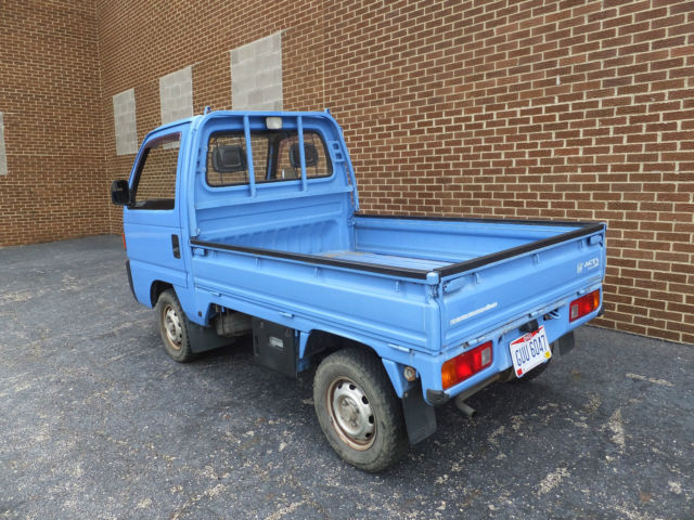 Honda 4x4 For Sale Ohio >> 1990 Honda ACTY Attack 4wd Kei Truck Japan JDM Legal Titled RHD 4x4 Rare for sale - Honda Other ...