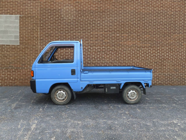 1990 Honda ACTY Attack 4wd Kei Truck Japan JDM Legal