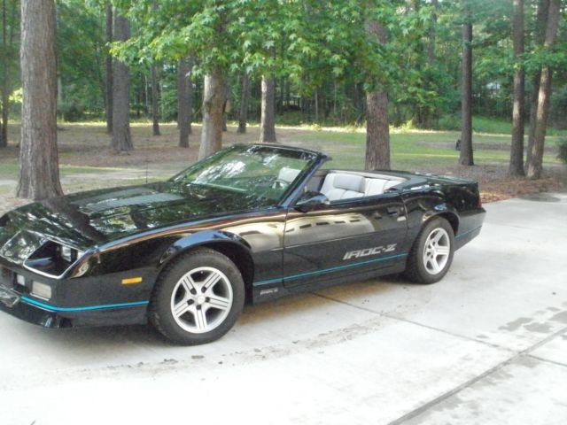 1990 Iroc Z Convertible For Sale Chevrolet Camaro 1990