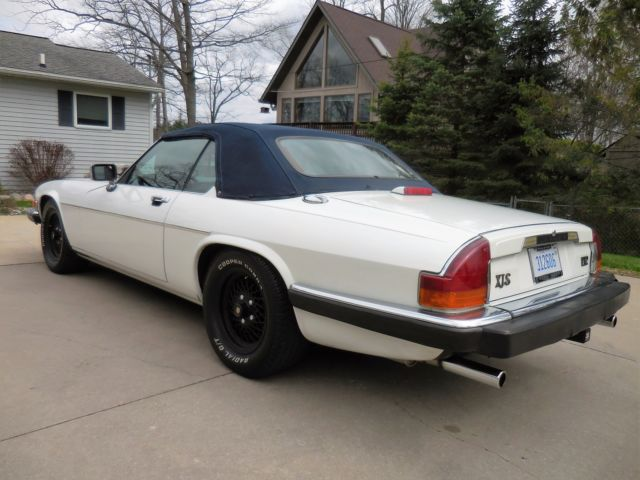 1990 Jaguar XJS Convertible 2-Door 5 3L V12 Kenwood Stereo