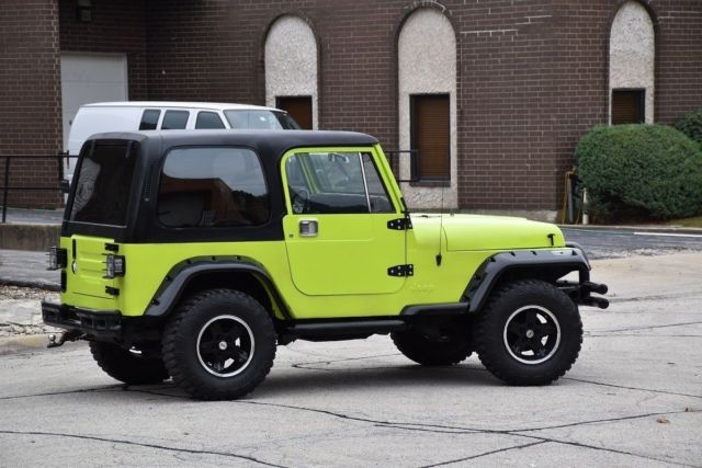 1990 jeep wrangler yj 4x4 for sale jeep wrangler 1990 for sale in houston texas united states. Black Bedroom Furniture Sets. Home Design Ideas