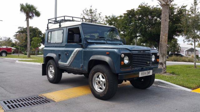 1990 Land Rover Defender 90 Turbo Diesel Original Matching
