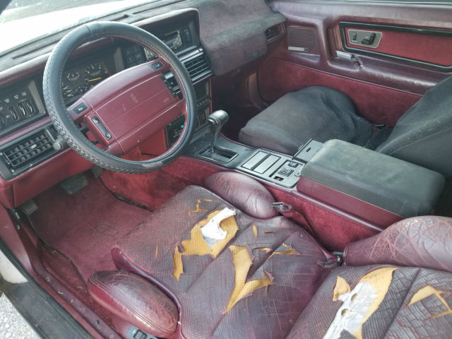 1990 lincoln mk7 lsc 2 door leather clean southern car no reserve for sale lincoln mark. Black Bedroom Furniture Sets. Home Design Ideas
