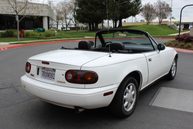 1990 mazda miata mx5 40k miles clean title collector item. Black Bedroom Furniture Sets. Home Design Ideas