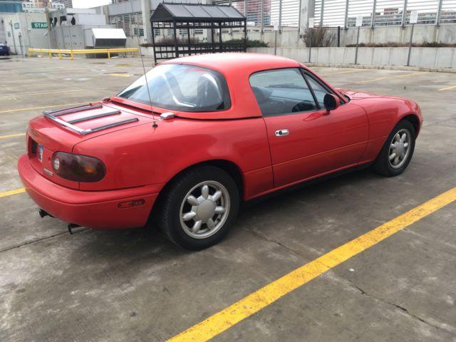 1990 Mazda Miata w hardtop low mileage for sale