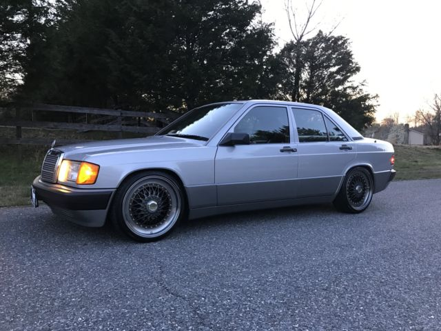 1990 Mercedes 190e 2 6 Liter 2 Owners Mercedes Maintained