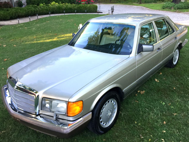1990 mercedes 300se w126 s class with 92k miles for sale for Mercedes benz w126 for sale
