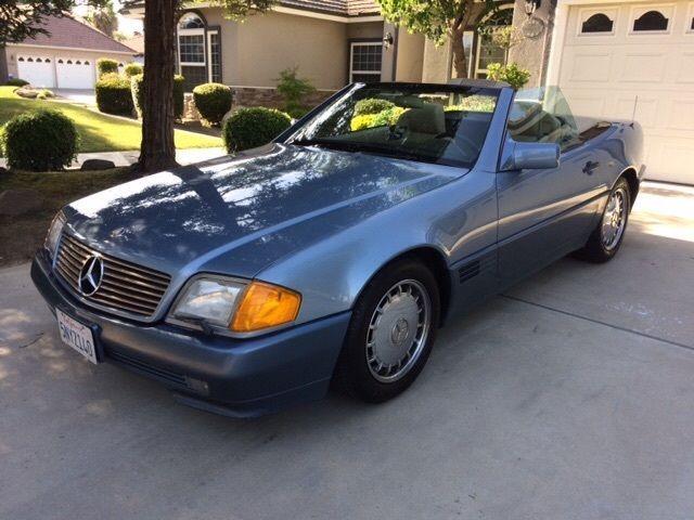 1990 mercedes 300sl 300 sl original classic oem for Mercedes benz hardtop convertible