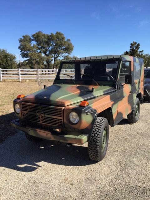 Mercedes Benz Boerne >> 1990 Mercedes Benz 250GD Wolf! This is the Real Deal! Military Diesel Not Jeep for sale ...