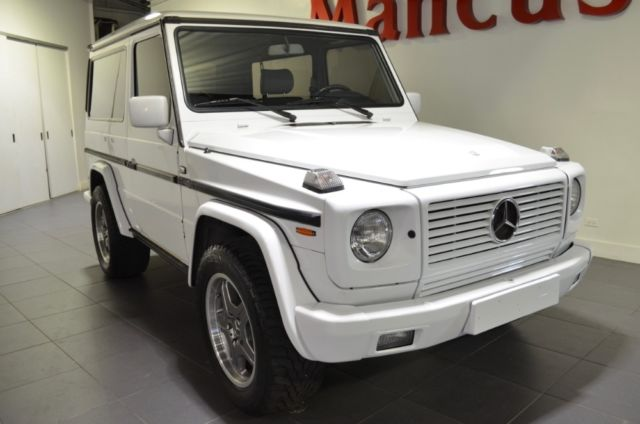 1990 mercedes benz 300ge g wagon w463 82600 miles white 2 door automatic for sale mercedes. Black Bedroom Furniture Sets. Home Design Ideas