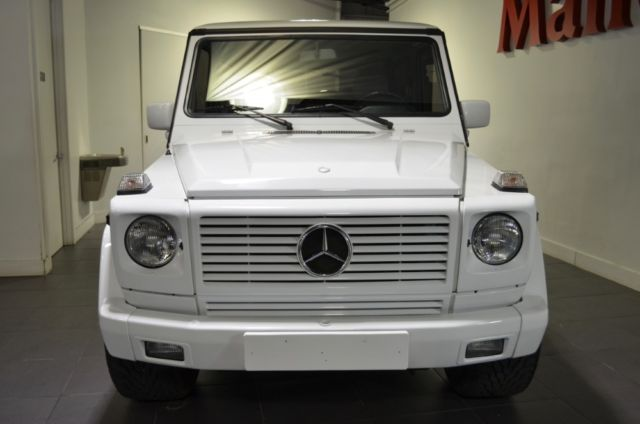 1990 mercedes benz 300ge g wagon w463 82600 miles white 2 door. Black Bedroom Furniture Sets. Home Design Ideas