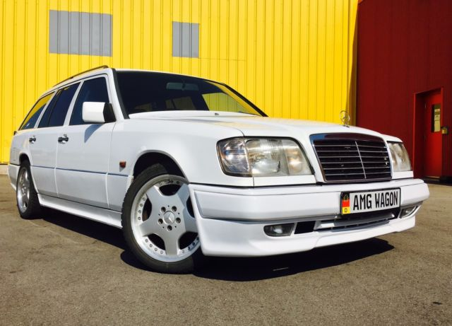 1990 mercedes e class 300te wagon with amg body kit 500e. Black Bedroom Furniture Sets. Home Design Ideas