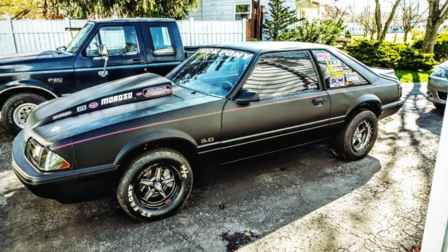 1990 mustang drag car for sale ford mustang 1990 for sale in norwalk ohio united states. Black Bedroom Furniture Sets. Home Design Ideas