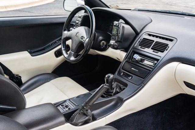 1990 Nissan 300zx Tt Twin Turbo True 5spd Manual Silverblk Leather