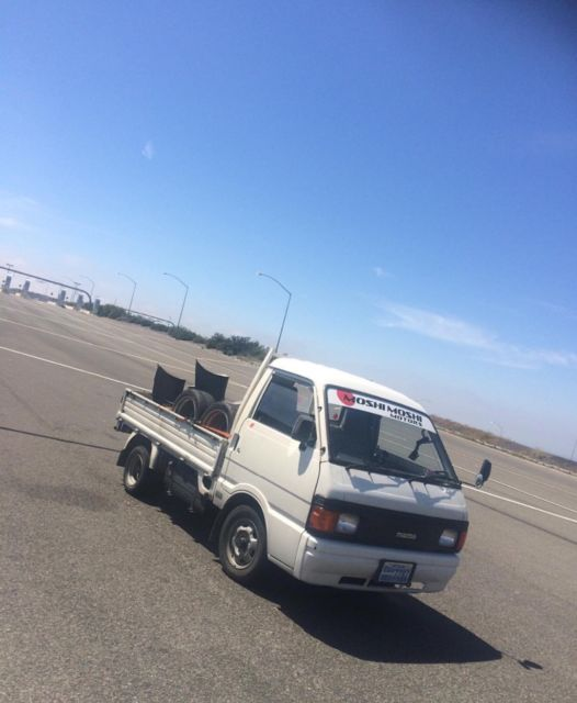 Delica D5 Four Wheel: 1990 Rhd Mazda Bongo Jdm Japanese Mini Truck, Right Hand