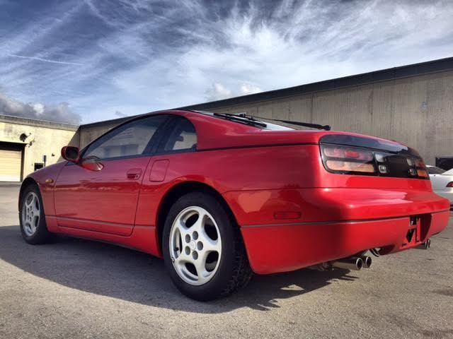 1990 right hand drive nissan 300zx turbo coupe 2 door 3 0l for sale nissan 300zx 1980 for sale. Black Bedroom Furniture Sets. Home Design Ideas