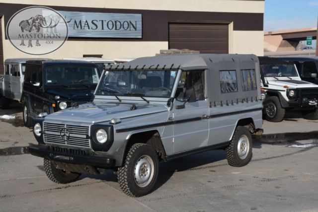 1990 silver g wagon g class g series 4x4 300gd for sale for Mercedes benz bay ridge