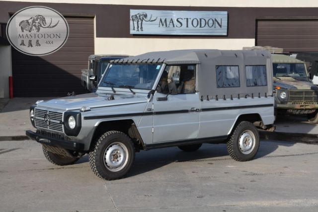 1990 silver g wagon g class g series 4x4 300gd for sale for Mercedes benz westminster colorado