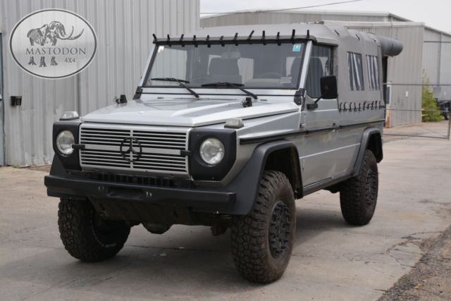 1990 silver g wagon g class g series g300 diesel manual for Mercedes benz g series for sale