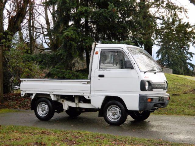 1990 suzuki carry 660cc 4wd rhd kei truck for sale suzuki other 1980 for sale in seattle. Black Bedroom Furniture Sets. Home Design Ideas
