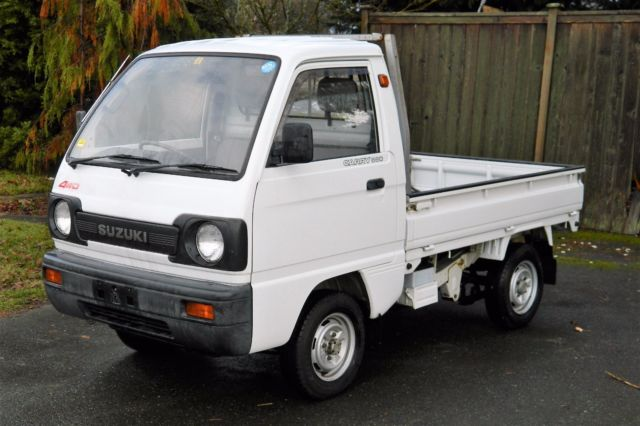 1990 Suzuki Carry 660cc 4wd Rhd Kei Truck For Sale