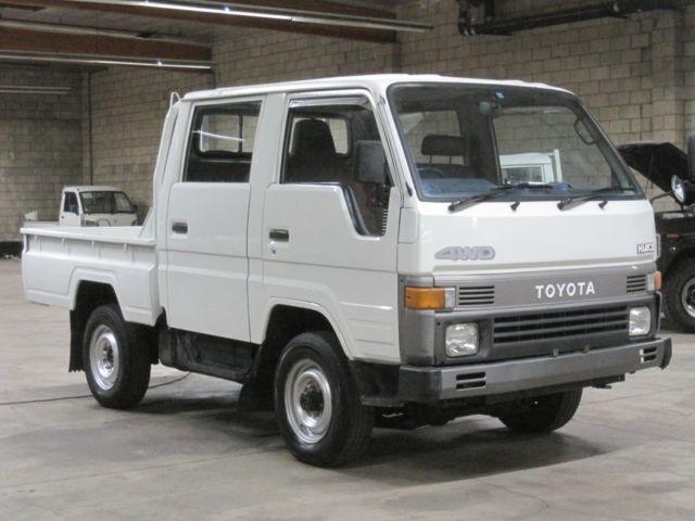 1990 toyota hiace crewcab truck diesel 4wd hi lo 5 speed rhd street legal import for sale. Black Bedroom Furniture Sets. Home Design Ideas