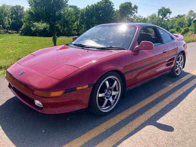 1990 Toyota MR2 GT (turbo) JAPAN IMPORT RIGHT HAND DRIVE for