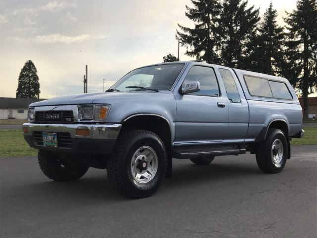 1990 toyota pickup extended cab 4x4 sr5 v6 must see mint condition for sale toyota pickup. Black Bedroom Furniture Sets. Home Design Ideas