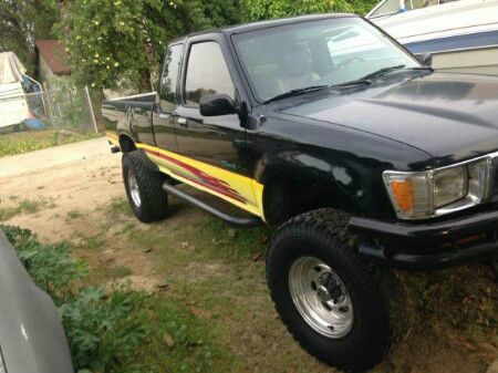 1990 toyota tacoma extended cab 4x4 pickup truck rebuilt engine for sale toyota tacoma 1990. Black Bedroom Furniture Sets. Home Design Ideas