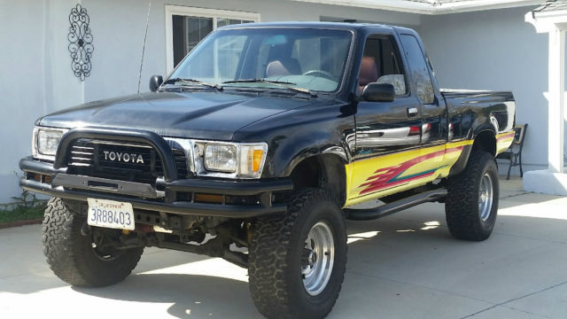 1990 toyota xtra cab sr5 4x4 pickup truck rebuilt engine for sale toyota tacoma 1990 for sale. Black Bedroom Furniture Sets. Home Design Ideas