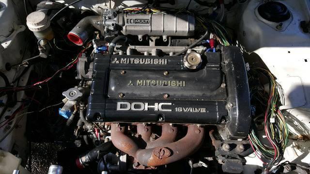 1990 turbo dodge colt with 4g63 swap dsm mirage 6 bolt fwd ... 1990 dodge colt engine diagram #11