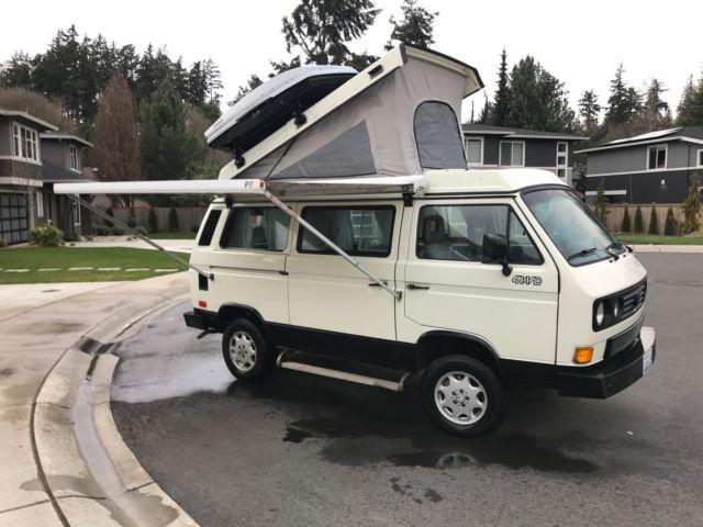 1990 Volkswagen Vanagon Syncro Westphalia 2 5 Liter For