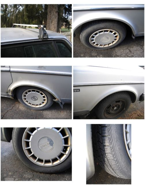 1990 Volvo 240 Sedan 4-Door 2.3L - fix or parts for sale - Volvo 240 1990 for sale in Castle ...
